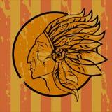 Leader Redskins Royalty Free Stock Images