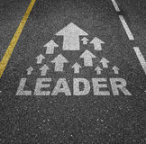Leader  Stock Photo