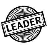 Leader rubber stamp Stock Images