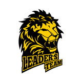 Leader`s team. Vector illustration Stock Photo