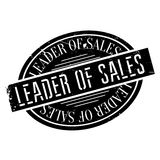 Leader of sales stamp Royalty Free Stock Photo