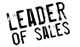 Leader of sales stamp Royalty Free Stock Photography