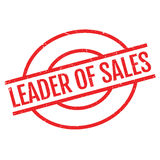 Leader of sales stamp Royalty Free Stock Images