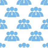 Leader seamless pattern Royalty Free Stock Photo