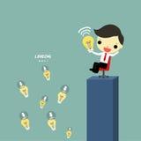 Leader share idea Royalty Free Stock Image