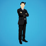 Leader successful businessman Royalty Free Stock Photography
