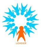 Leader symbol Royalty Free Stock Photo