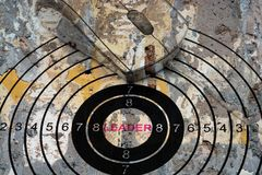 Leader target concept Royalty Free Stock Photography