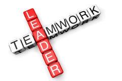 Leader Teamwork concept Stock Images