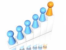 Leaderchip illustrazione vettoriale
