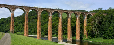 Leaderfoot Viaduct Royalty Free Stock Image