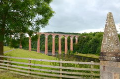 Leaderfoot viaduct Stock Photos