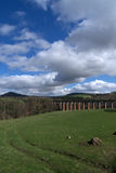 Leaderfoot Viaduct, Borders, Scotland Royalty Free Stock Photography
