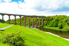 Leaderfoot Viaduct Royalty Free Stock Images