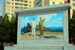 The Leaders, Pyongyang, North-Korea Royalty Free Stock Photo