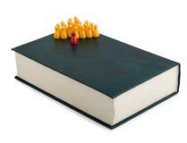 Leadership book Royalty Free Stock Photography
