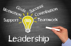 Leadership business concept Stock Photo