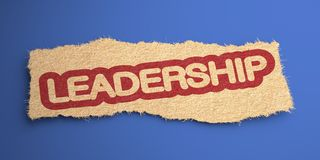 Leadership. Business Concept. Stock Photo