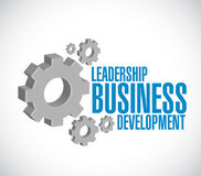 Leadership business development gear sign Stock Images