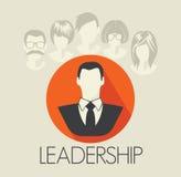 Leadership card Stock Photography