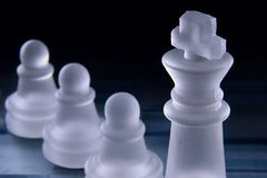 Leadership in Chess Stock Photos