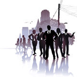 Leadership in The City Royalty Free Stock Images