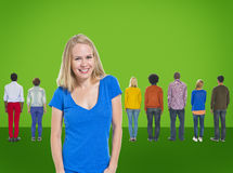 Leadership Coaching Diversity Team Trainer Concept Royalty Free Stock Image