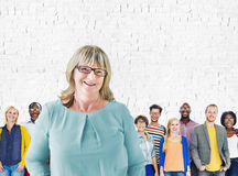Leadership Coaching Diversity Team Trainer Concept Royalty Free Stock Images