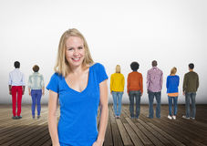 Leadership Coaching Diversity Team Trainer Concept royalty free stock photo
