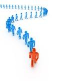 Leadership concept stock illustration