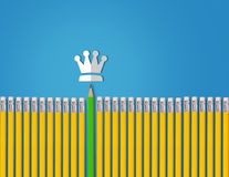 Leadership Concept Background Royalty Free Stock Photo
