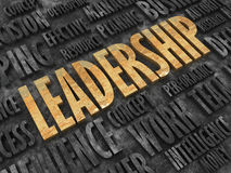 Leadership concept. Creative abstract business leadership background Stock Photography