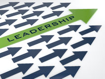 Leadership concept. Creative abstract business leadership background Royalty Free Stock Image