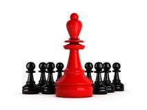 Leadership - concept illustration Royalty Free Stock Image
