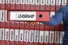 Leadership concept. Leadership skill concept. Royalty Free Stock Photography