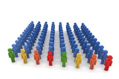 Leadership concept Stock Image