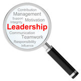 The leadership Royalty Free Stock Images