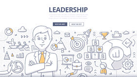 Leadership Doodle Concept Royalty Free Stock Photos
