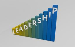 Leadership Graph Stock Photography