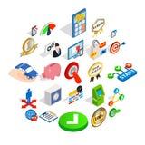 Leadership icons set, isometric style. Leadership icons set. Isometric set of 25 leadership vector icons for web isolated on white background Stock Images