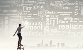 Leadership ideas and mission Royalty Free Stock Image