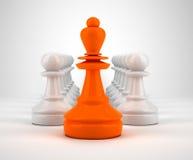 Leadership illustration Stock Image