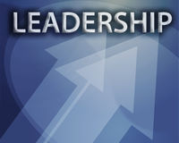 Leadership illustration Royalty Free Stock Photos