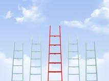 Leadership on Ladder Stock Photos