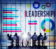 Leadership Leader Coaching Director Manage Concept Royalty Free Stock Image