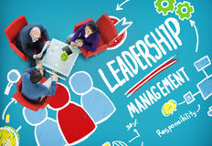 Leadership Leader Management Authority Director Concept.  stock photography