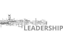 A Leadership Lesson Two Guys With Guns Word Cloud Royalty Free Stock Photography