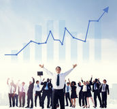Leadership Management Skills Leader Support Concept Stock Photography
