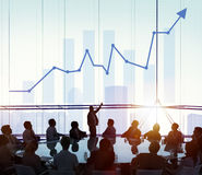 Leadership Management Skills Leader Support Concept stock photo
