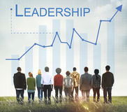 Leadership Management Skills Leader Support Concept stock image